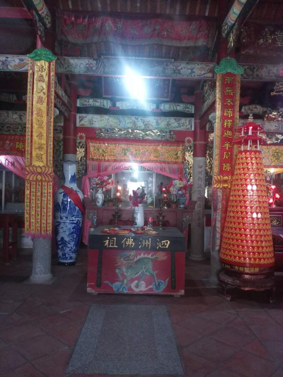 下半林鹳林寺泗洲佛祖