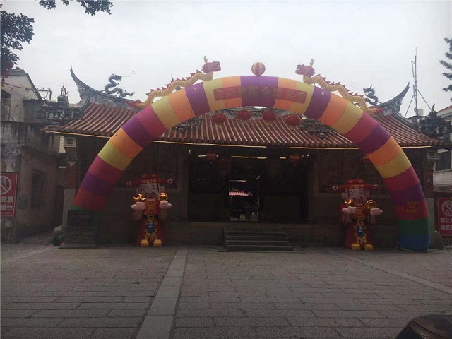 龙溪古县城与王公祖庙